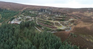 Outdoor activity centre plan for former quarry