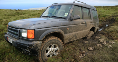 Peak practise costs 4×4 driver big fine