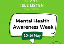 Going green for Isle Listen and Mental Health Awareness Week