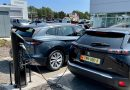 Island's largest EV public charging site opened